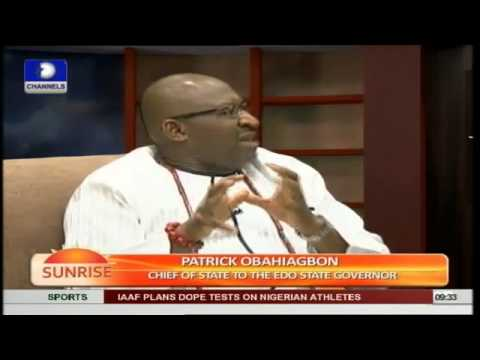 Obahiagbo speaks on Rivers  Political Brou•ha•ha SOME SAID HE MADE NO MEANING DO YOU AGREE ?