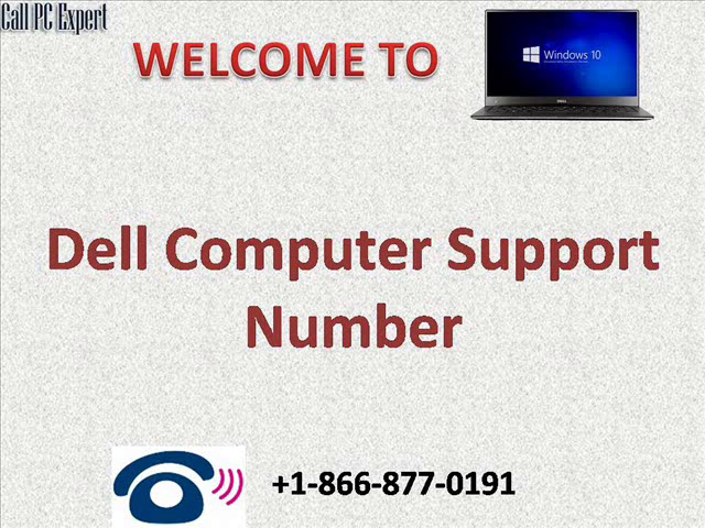 Dell computer support number-1866-877-0191