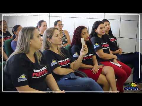 PALESTRA TODOS CONTRA A PEDOFILIA CASÉ FORTES EM ITAPORÃ DO TOCANTINS 23 06 2018