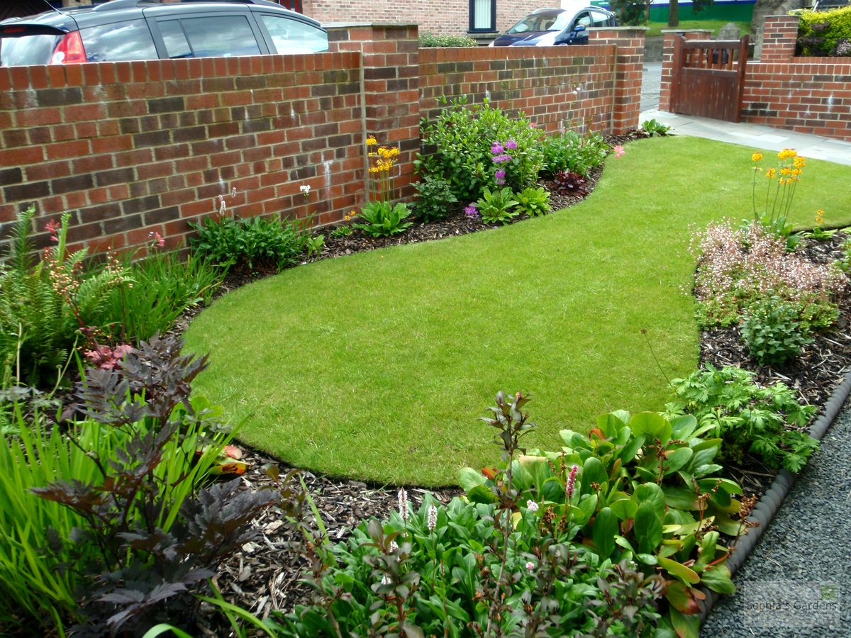 Colourful North-Facing Front Garden June 2014 - Latest ...