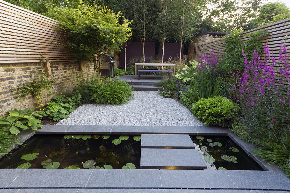 Stylish And Elegant Garden Designed By John Davies Latest Member Projects Landscape Juice Network