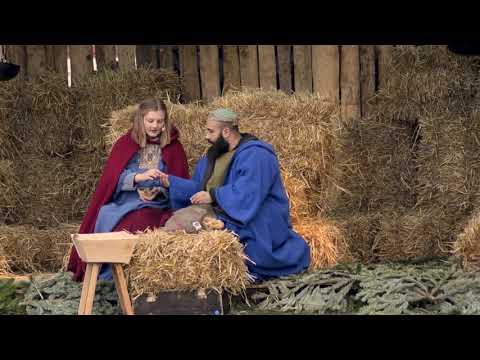 Levande julkrubba i Varberg 2017
