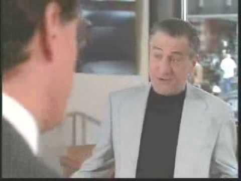 Robert De Niro tries to sell a Car
