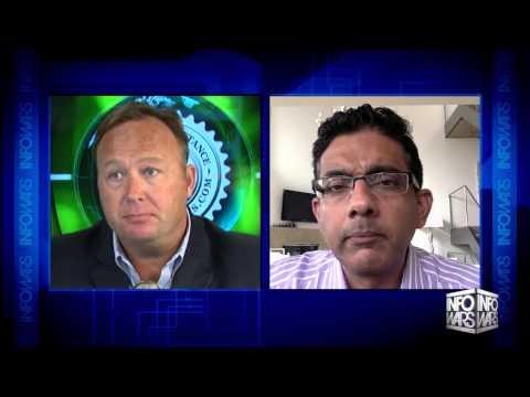 Alex Jones Show: Dinesh D'Souza Interview