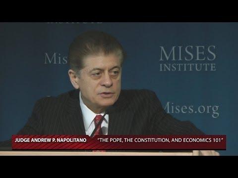 The Pope, the Constitution, and Economics 101 | Judge Andrew P. Napolitano