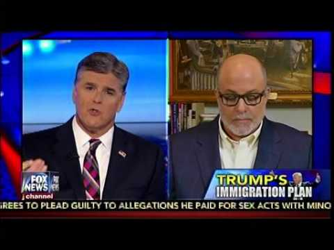 Mark Levin Weighs In On 14th Amendment & Donald Trump's Immigration Plan - Hannity