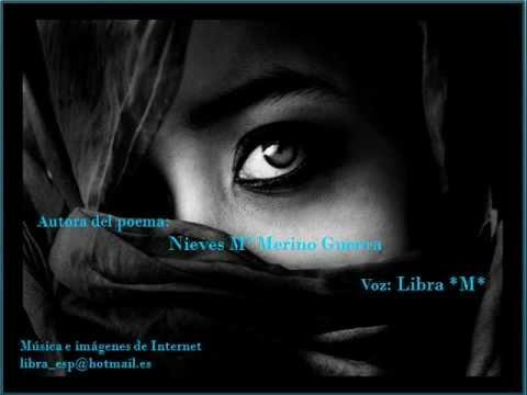 """... Recitando el poema """"Grita mi alma"""" de Nieves Mª Merino Guerra"""