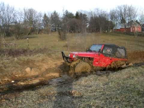 RJ2 First mud pit test