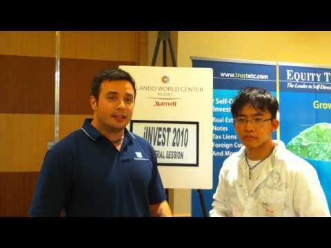 Nick Tang asking Konrad Sopielnikow about email marketing