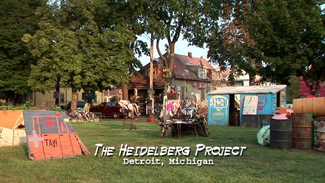 """Art From The Ashes: Detroit's Heidelberg Project"""