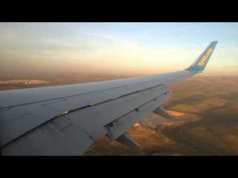 [Full Flight] UR-PSD Ukraine International Airlines Boeing 737-8HX(WL) Kiev - Tel Aviv 23/1/2013