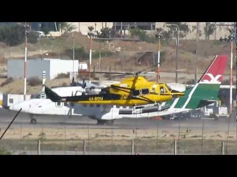 Spotting Sde Dov Airport LLSD Tel-Aviv, Israel 23-12-2011 HD
