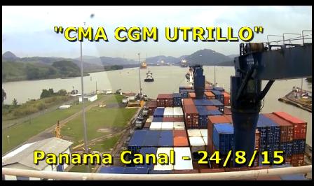 CMA CGM Utrillo - Panama Transit - Part 2
