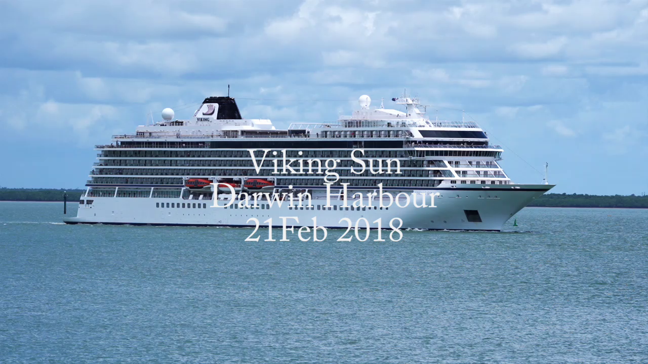 Viking Sun Darwin Harbour Feb 2018