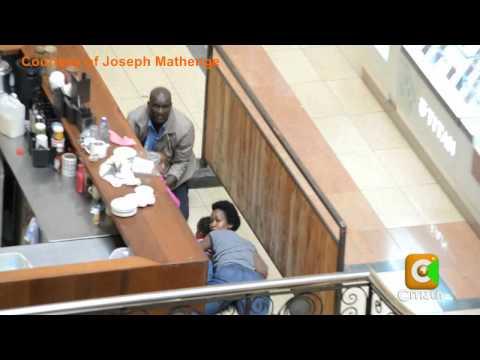 Video: Jinsi mama na wanae wawili walivyo salimika ndani ya Westgate Mall