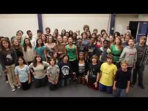 Culver Middle Musical Theatre Glee-Give-A-Note Thank you