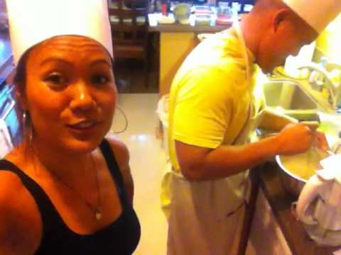 Wrapping at Jimmy's House of Adobo in Culver City
