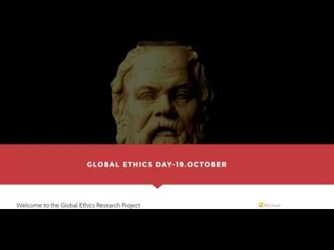 Global Ethics Day 2016 Journal Philosophical Views