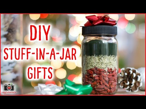 DIY Stuff-In-A-Jar Gifts #12DaysVeganXmas