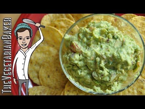 How to Make Fresh Guacamole | TheVegetarianBaker