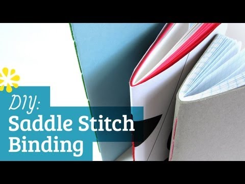 DIY Saddle Stitch Binding: Thread (How to Make)