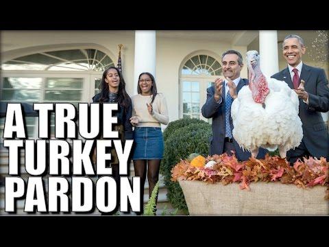 Hey Obama! Here's How You REALLY Pardon A Turkey