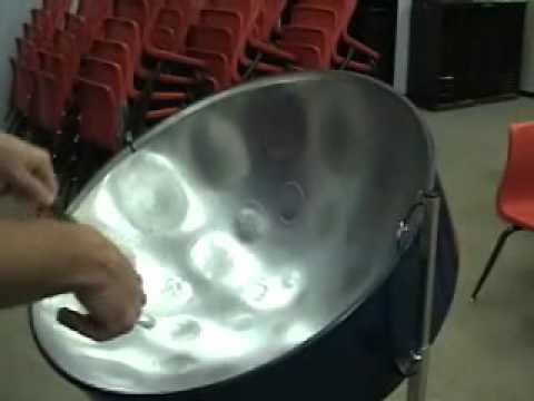 The Pentaonic scale for steel drum.wmv