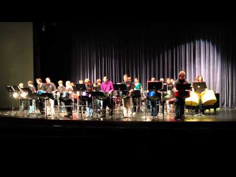 """Haven High School Steel Drum Band Performing """"Pans Gone Wild"""" at Wichita State University"""