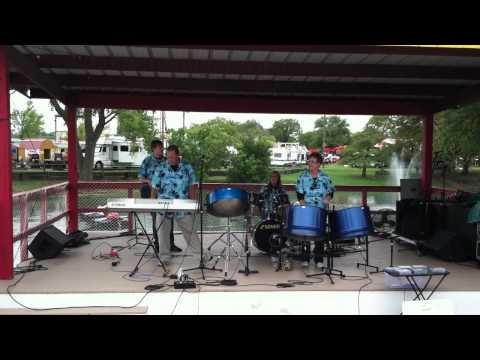 "Tropical Shores playing ""under the sea"" at tha Kansas State Fair at Lake Talbott (9-15-12)"