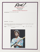 Eric Clapton Signed 8x10 Color Photo $650