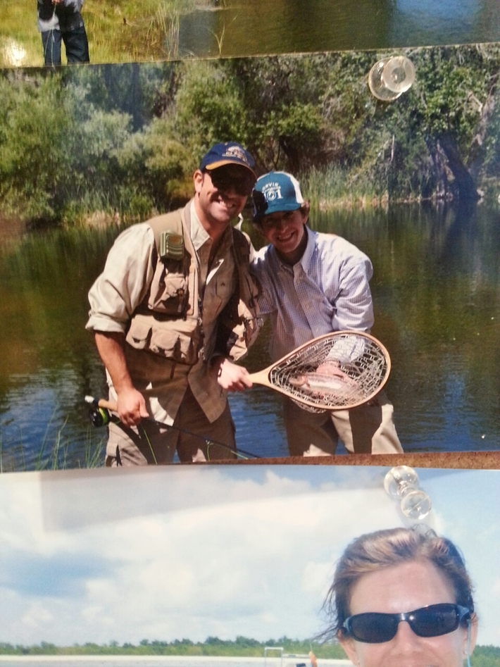 I made the wall! @Orvis shop in Pasadena