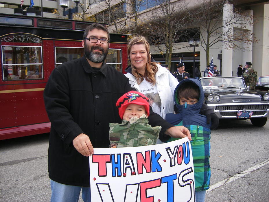 2014 Veterans Parade and Wall of Honor