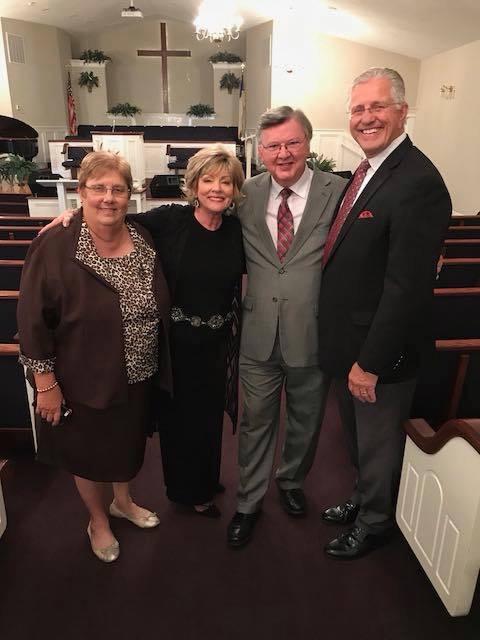 Faith Baptist Church Pastor and his wife, Charlotte