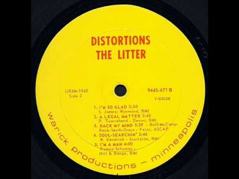 "The Litter ""Distortions"" I'm A Man 1967"