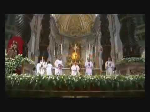 Papa Francisco I Bergoglio adora a LUCIFER en el Vaticano 30 03 2013