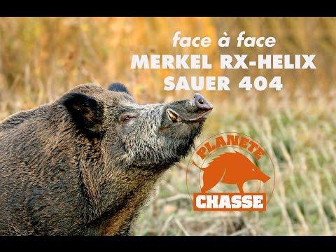 Merkel Rx-Helix vs Sauer 404 : spécial modularité !