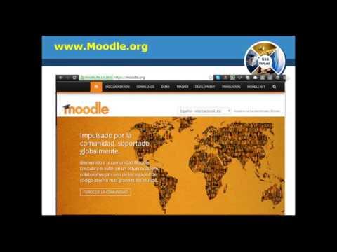 Moodle: Gestiona tu espacio para crear tu curso virtual