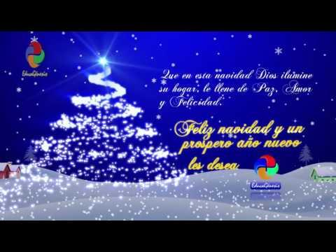 Feliz Navidad  y un Próspero año nuevo 2019