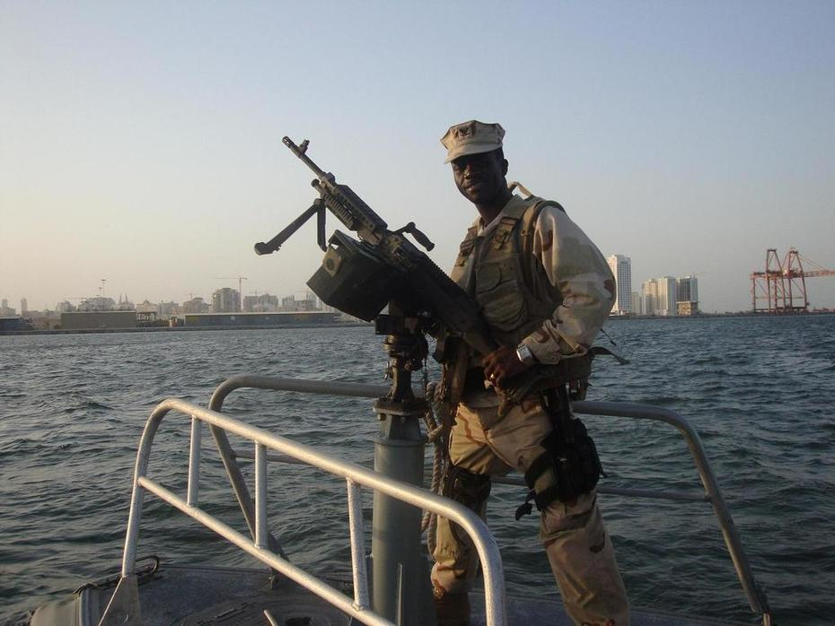 Standing duty on the water front