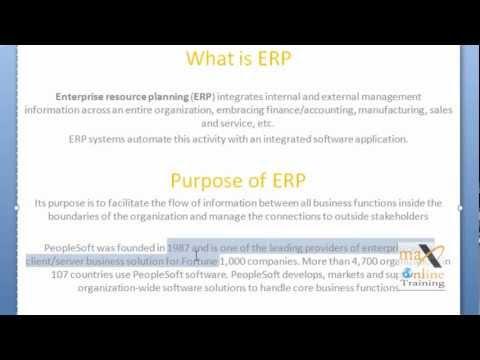 PeopleSoft Online Training | peoplesoft Training | Demo Video