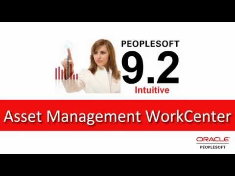 PeopleSoft Asset Management WorkCenter