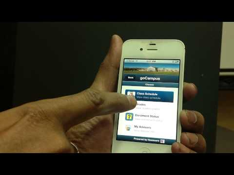 Mobile app for Oracle PeopleSoft Campus solution - Student