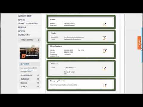 Boise State Campus Portal: PeopleSoft Campus Solutions integrated into SharePoint (1 of 3)