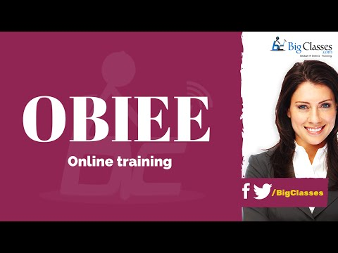 OBIEE Training Videos | Oracle BI Tutorials for Beginners