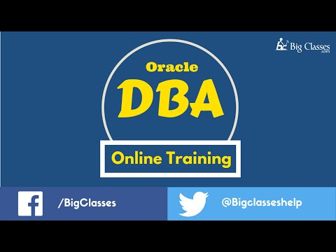 Oracle DBA Online Training | Oracle DBA Training Tutorials