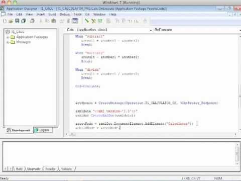 PeopleSoft Messaging: Part 5 of 6 - Handler PeopleCode - Response