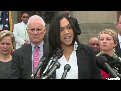 HOMICIDE! Freddie Gray's Death, Baltimore City State's Attorney Marilyn Mosby FULL SPEECH