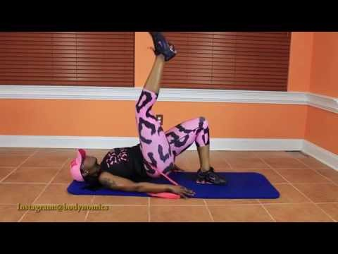 Bands Will Make Her Dance (lower body band workout)!