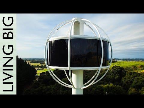 The Skysphere - An Ultra Futuristic High-Tech Retreat