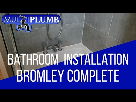 Bromley Bathroom Installation | Completed Bathroom Installation Bromley London